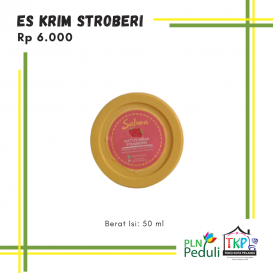 Es Krim Stroberi